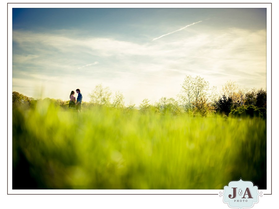 Abby + Nick {Engagement Session} – Juniata College